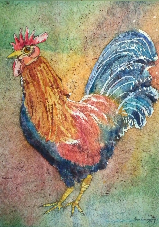 Barnyard Rooster artwork