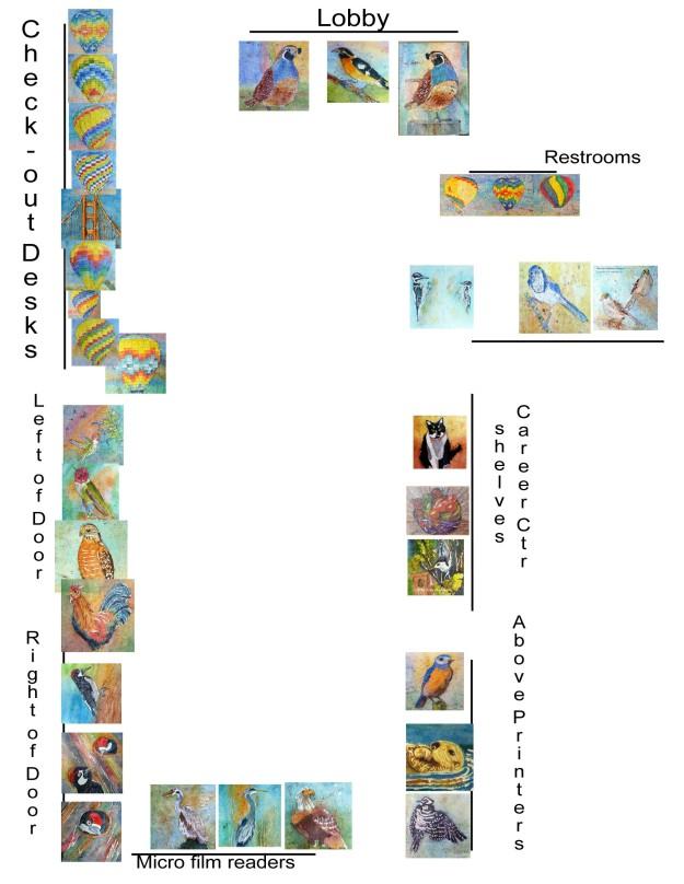 exhibit layout